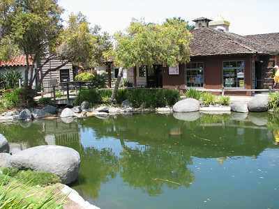 Seaport Village - San Diego. Pond