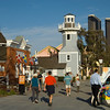 Seaport Village is a popular attraction for tourists visiting San Diego.