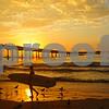 A warm September evening at the Ocean Beach Pier