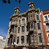 Built in 1888, the Louis Bank of Commerce Building is on Fifth Avenue in the Gaslamp Quarter of San Diego, California.