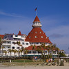 The historic Hotel Del Coronado across the bay from San Diego, California.