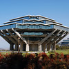 The distinctive Geisel Library on the University of California, San Diego campus.