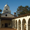 The historic Serra Museum in Presidio Park, San Diego, California.