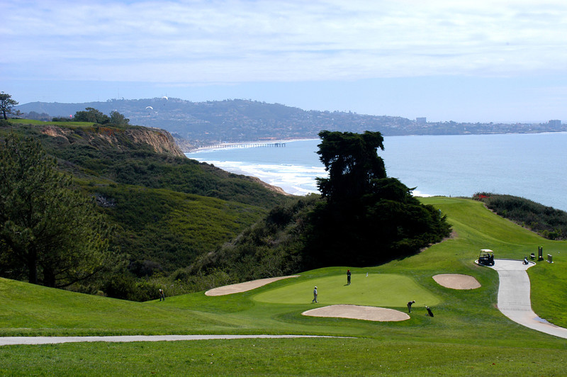 The popular Torrey Pines North Course with its incredible scenery!