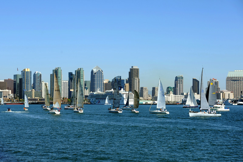 Making the most of an afternoon on San Diego Bay
