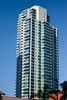 The down town area of San Diego has many high rise apartment/condo buildings.  The condos on the top floors of some of these buildings can have their own elevator access.  They can be as large as 6,000+ sq. ft. and cost as much as $8M.