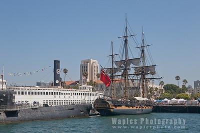 San Diego Harbor & Point Loma, Sept. 2010