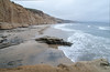 The beach at Torrey Pines State Reserve