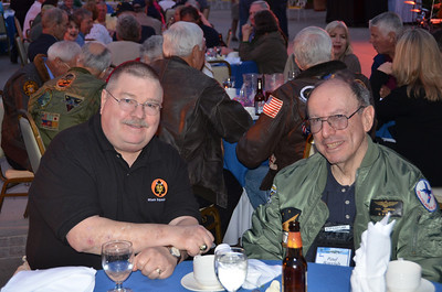 Pete Young (L) and Paul Barrish (R) at the Intruder Association Reunion, San Diego, CA... May 2012.