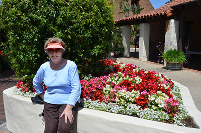 Mom at Sea Port Village, San Diego CA.