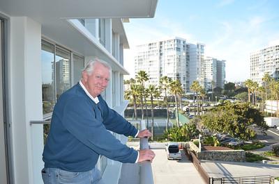 Ron on his Balcony
