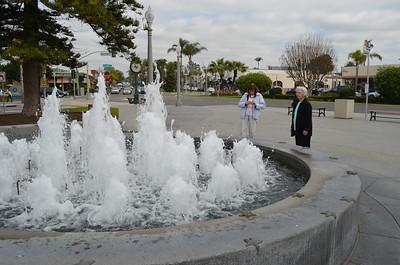 Fountain in Small Park on Coronado