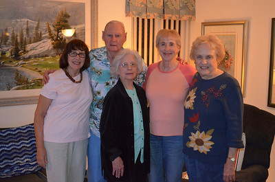 the Guests with Sister Jeanne and friend Jean