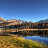 Early morning at Southfork Lake in the Golden Trout Wilderness, Ca.