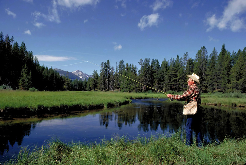 Fly Fishing on Miner Creek in Montana