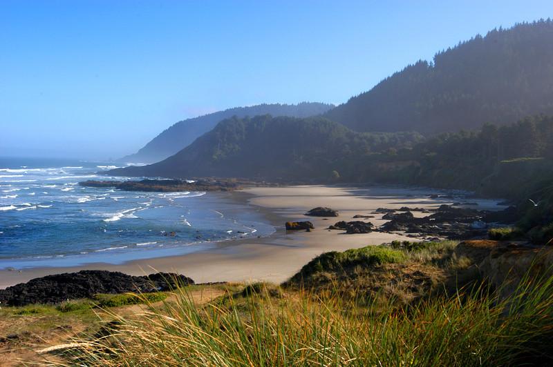 Morning light along the beautiful Oregon Coast.
