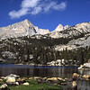 Lower Pine Lake in the Eastern Sierra of Califoria.