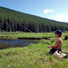 An afternoon of fishing on Miner Creek in Montana.