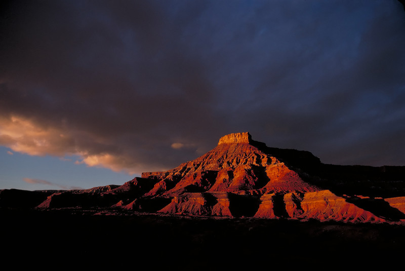 Late afternoon light near Hurricane, in Southern Utah.