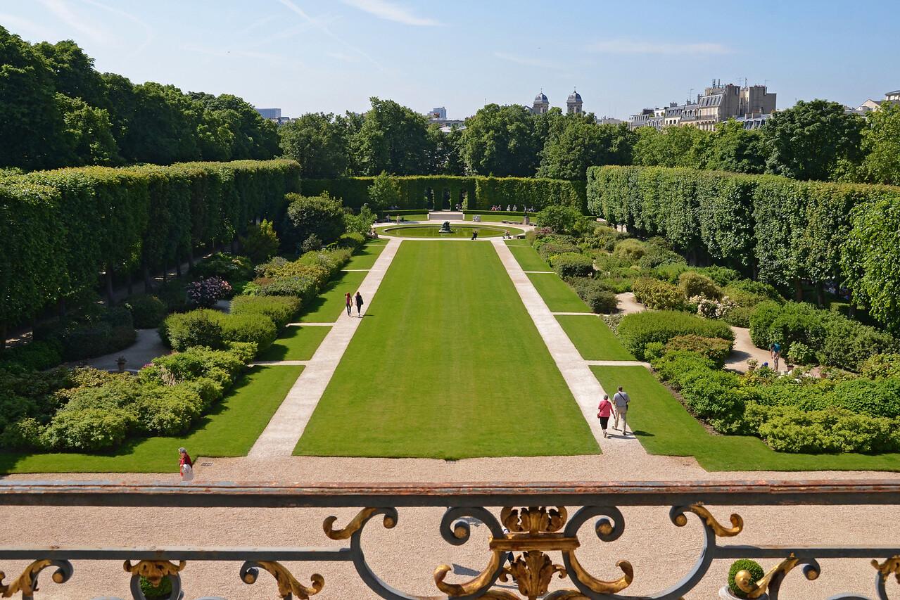 The Rodin Museum Gardens in Paris