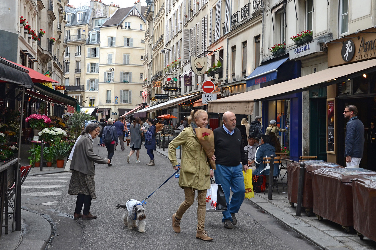 Afternoon on the Rue de Buci