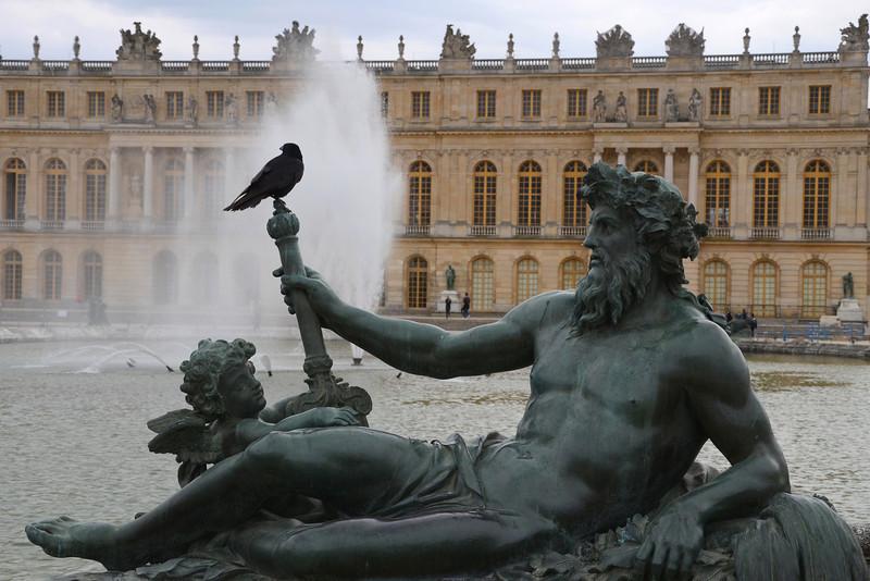 At the Palace of Versailles