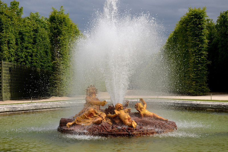 The Ceres Fountain at the Versailles Palace gardens