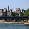 The Hotel De Ville, Seine, and the Pont St. Louis