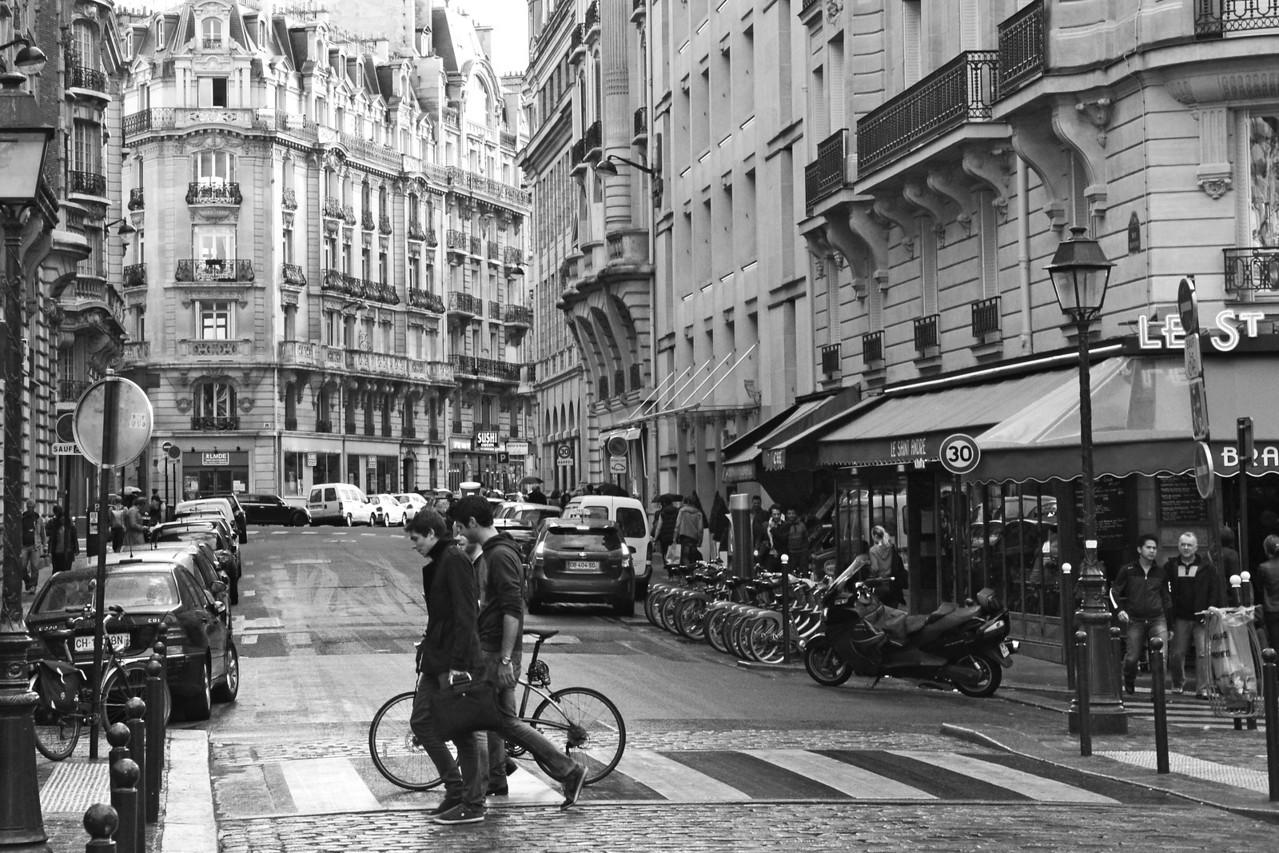 Left Bank street view