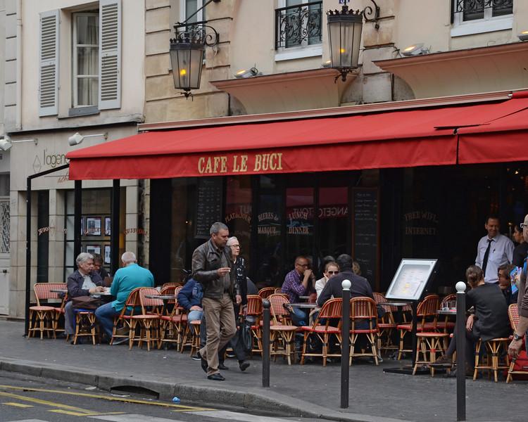 Cafe Le Buci in Paris