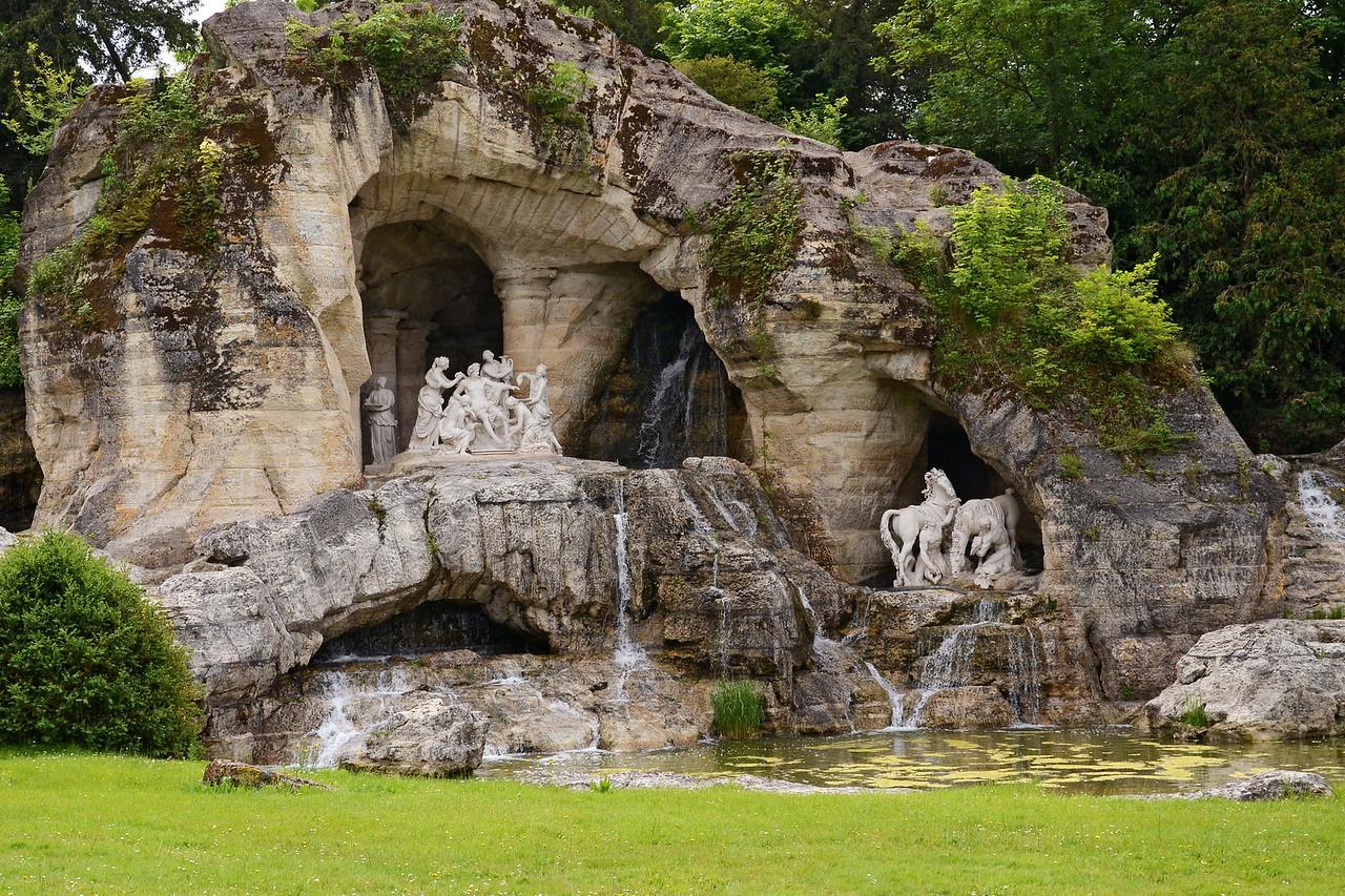 Apollo's Baths grove in the garden of Versailles