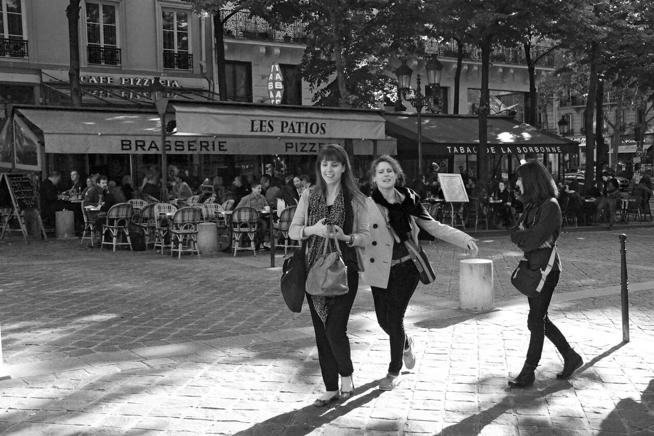 Brasserie Les Patios near the Sorbonne in Paris