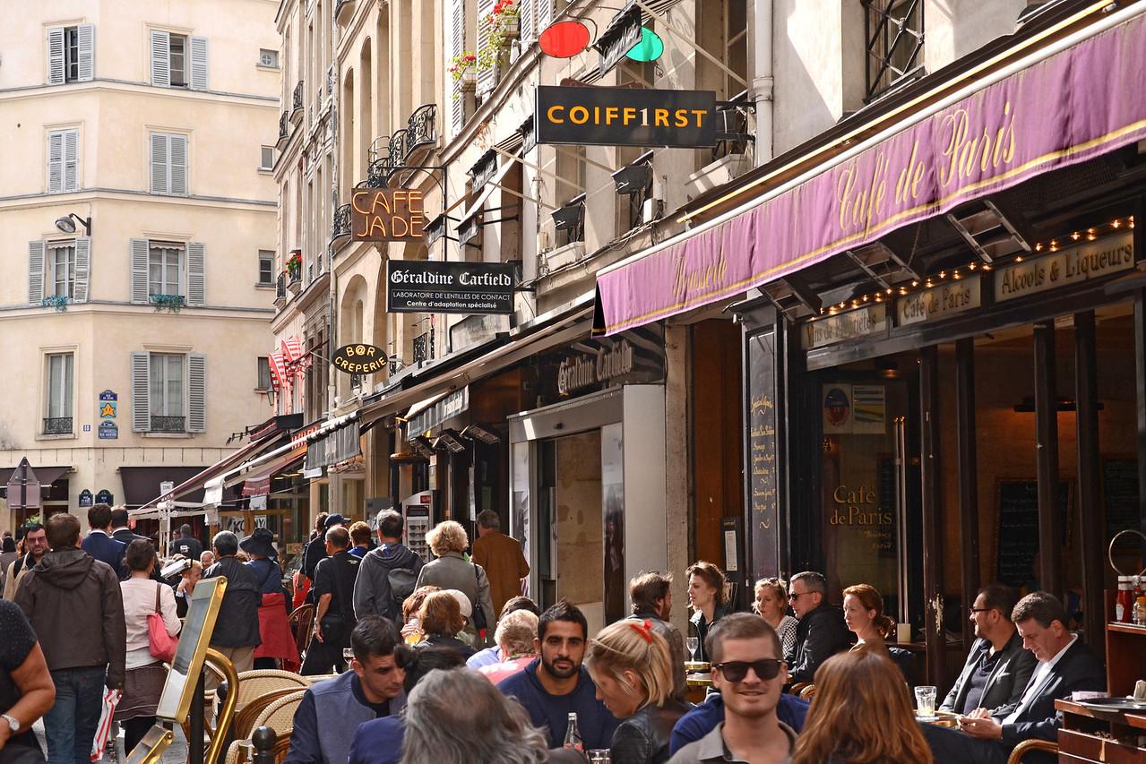 Cafe de Paris on the Rue de Buci