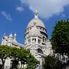 Looking  up at the Basilica Sacre Coeur in Paris