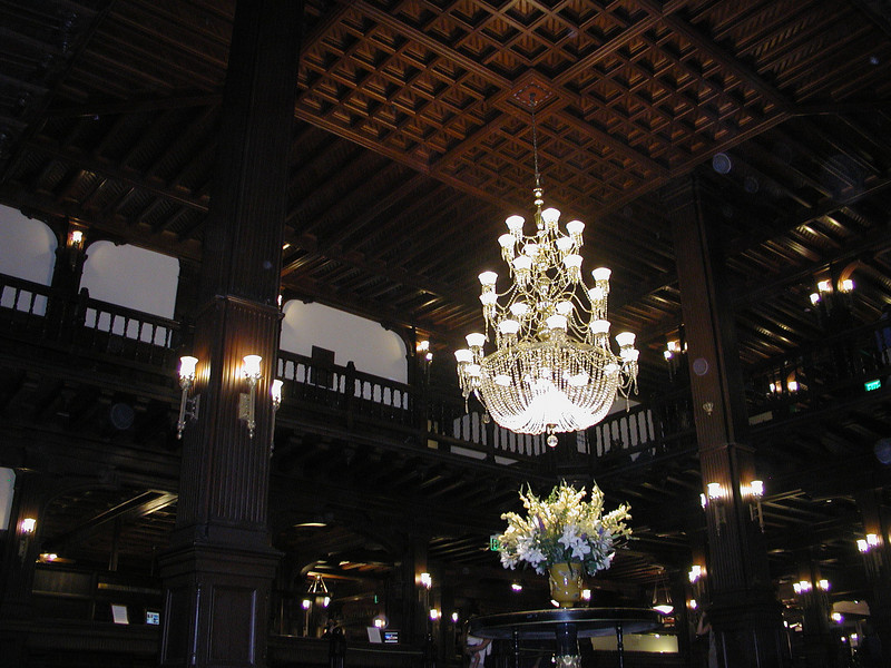 The lobby at the DEL.