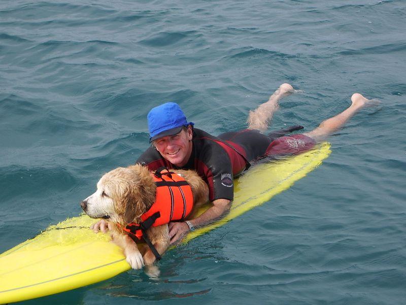 I'll paddle..