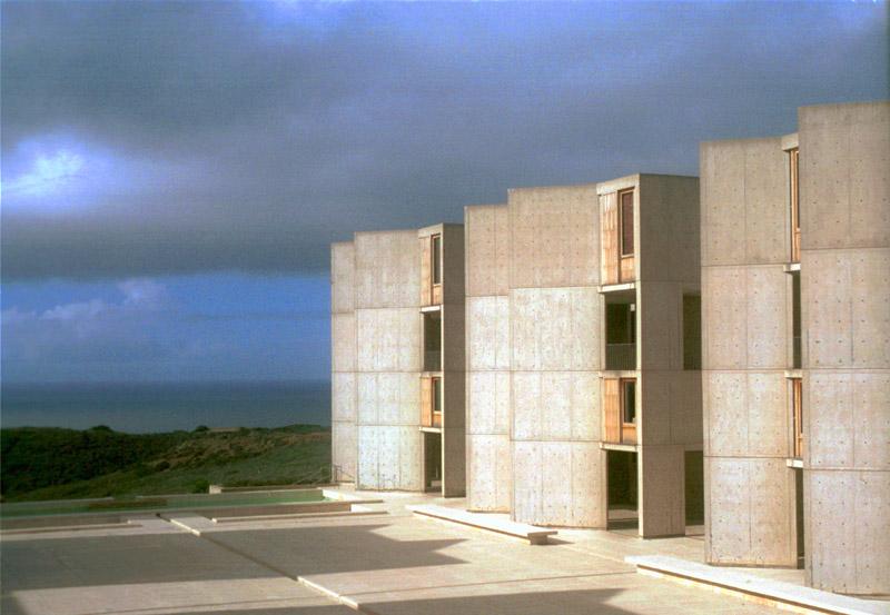 Salk Institute designed by Kahn
