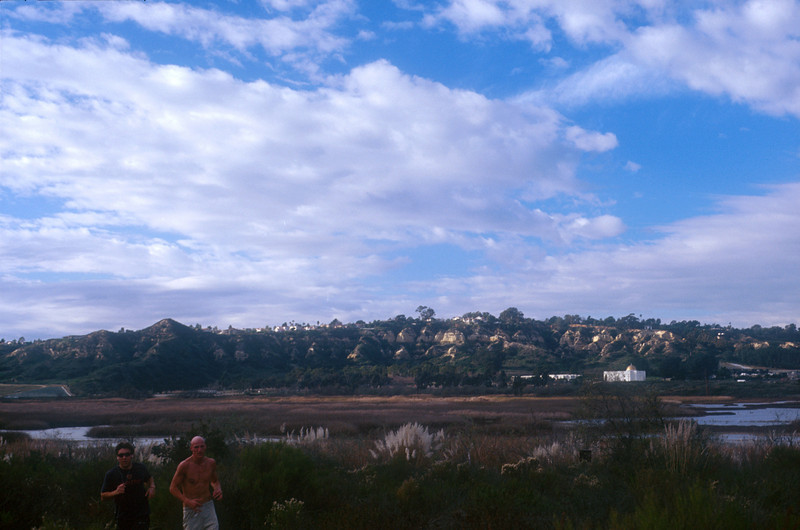 """Naked Men Xing...<br /> San Elijo Lagoon County Park & Ecological Reserve -- well, maybe it's """"Wildlife Xing""""?!"""