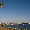 San Diego, one of America's most popular cruise ship destinations.