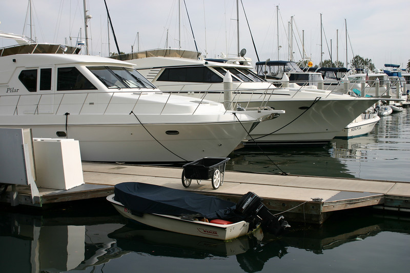 Inadequacy There is nothing wrong with the little boat -- unless you compare it to the big boats