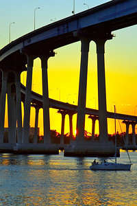 Coronado Bay Bridge San Diego, CA.