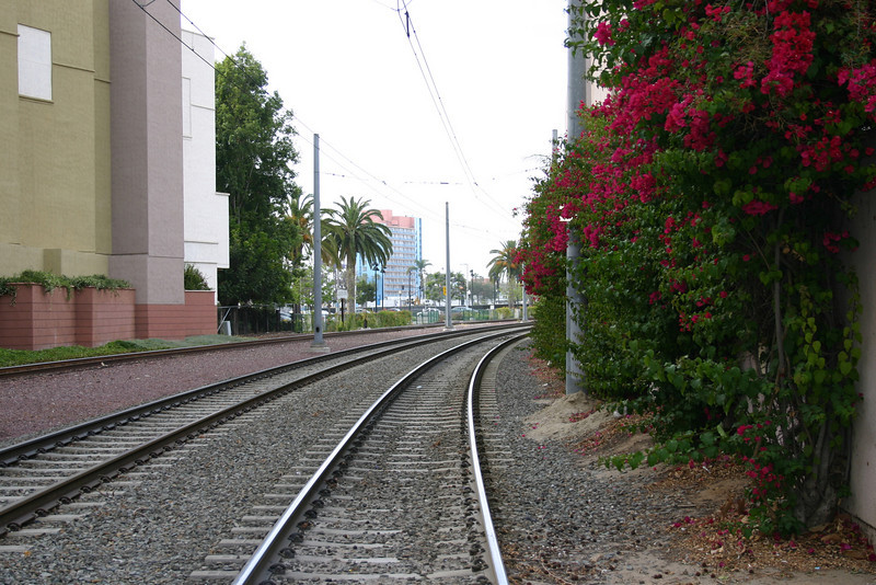 Trolley Tracks Another shot of trolley tracks from the same alley