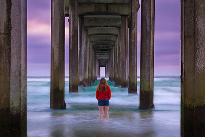 Passing Time Under the Pier
