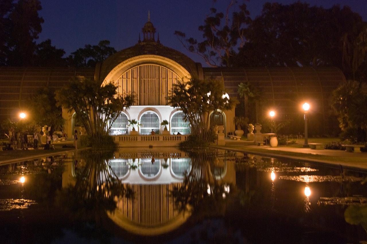 #115 Balboa Park Arboretum @ night