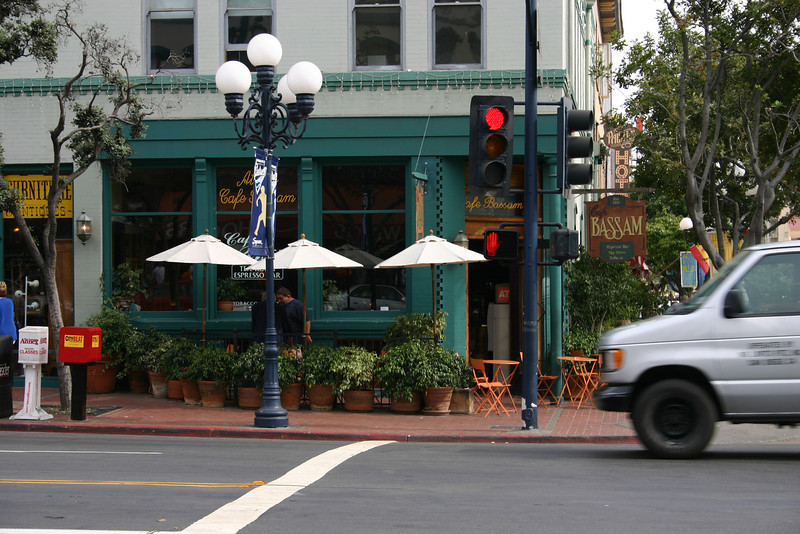 Cafe Bassam A shop in downtown San Diego that is quite popular with some of my siblings