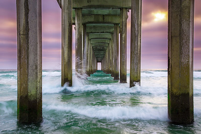 Scripps-Pier-Sunset