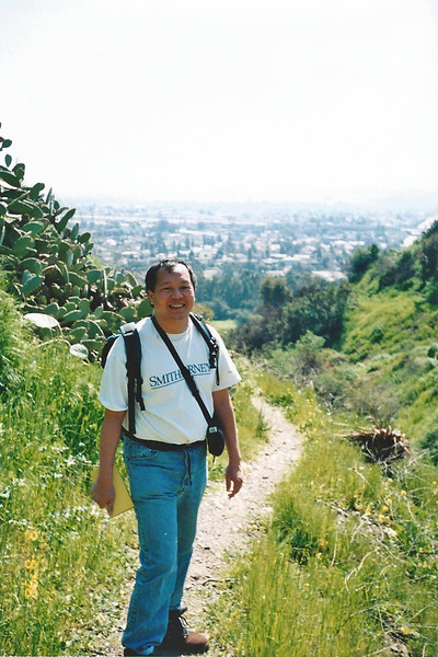 3/8/98 Nature Trail, San Dimas Canyon.