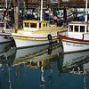 Boats at rest at Fisherman's Wharf