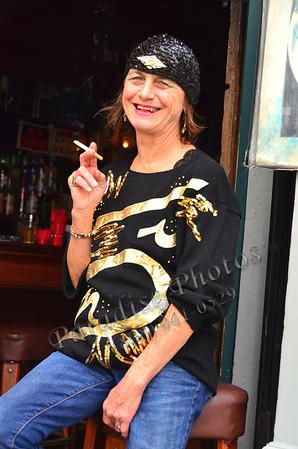 Shari Hart Bartender  with ciggie 835