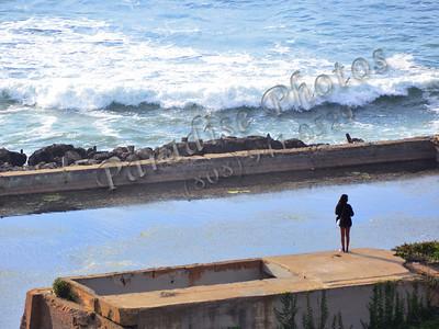 Girl watching water SF 485